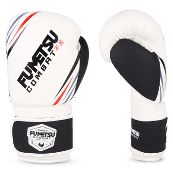 Fumetsu Shield Boxing Gloves White/Black