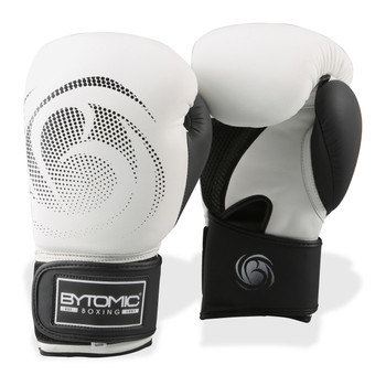 Bytomic Legacy Leather Boxing Gloves White/Black