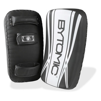 Bytomic Axis V2 Curved Thai Pads Black/White