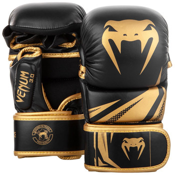 Venum Challenger 3.0 MMA Sparring Gloves Black/Gold
