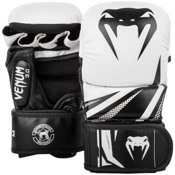 Venum Challenger 3.0 MMA Sparring Gloves White/Black
