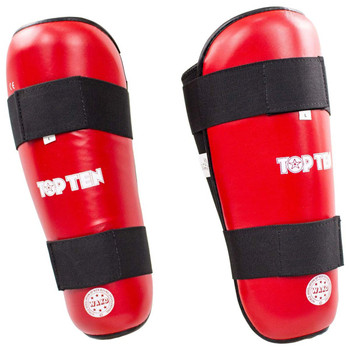 Top Ten WAKO Shin Guards Red