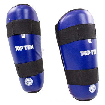 Top Ten WAKO Shin Guards Blue