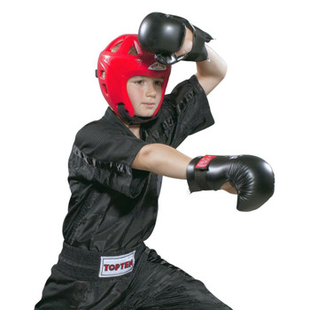 Top Ten Mesh Kickboxing Jacket Black/Black