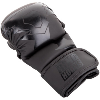 Ringhorns Charger MMA Sparring Gloves Black/Black