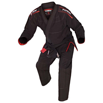 Fumetsu Ladies Shield BJJ Gi Black