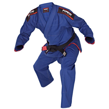 Fumetsu Ladies Shield BJJ Gi  Blue