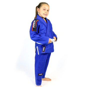 Fumetsu Kids Shield BJJ Gi Blue