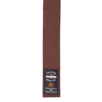 Fumetsu V2 Adult BJJ Belt Brown