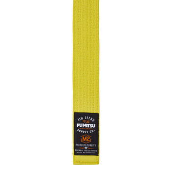 Fumetsu V2 Kids BJJ Belt Yellow