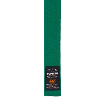 Fumetsu V2 Kids BJJ Belt Green