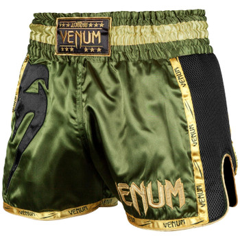 Venum Giant Muay Thai Shorts Khaki/Black