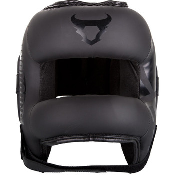 Ringhorns Nitro Head Guard  Black/Black