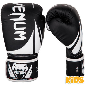 Venum Challenger 2.0 Kids Boxing Gloves Black/White