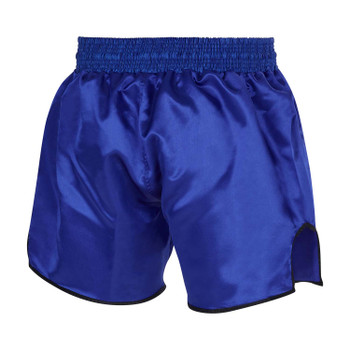 Fumetsu Combat Muay Thai Shorts Dark Blue/White