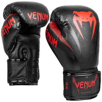 Venum Impact Boxing Gloves Black/Red