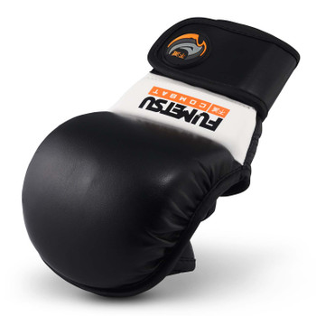 Fumetsu Ghost MMA Sparring Glove Black/White
