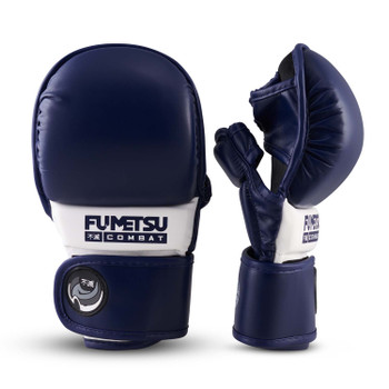 Fumetsu Ghost MMA Sparring Glove Navy/White