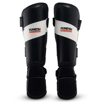 Fumetsu Ghost Thai Shin/Instep Guards Black/White