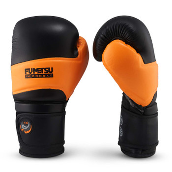 Fumetsu Ghost Boxing Gloves Black/Orange