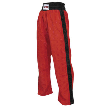 Top Ten Kids Classic Kickboxing Pants Red/Black