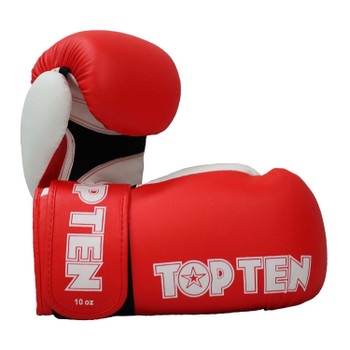 Top Ten XLP Boxing Gloves Red/White