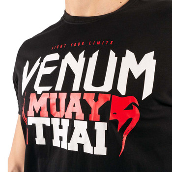 Venum Classic 20 Muay Thai T-Shirt  Black/Red