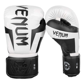 Venum Elite Boxing Gloves White/Camo