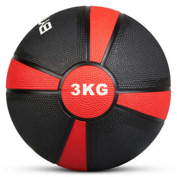 Bytomic 3kg Rubber Medicine Ball
