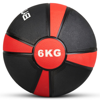 Bytomic 6kg Rubber Medicine Ball