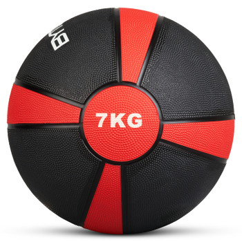 Bytomic 7kg Rubber Medicine Ball