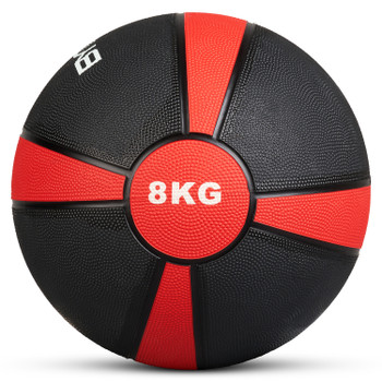 Bytomic 8kg Rubber Medicine Ball