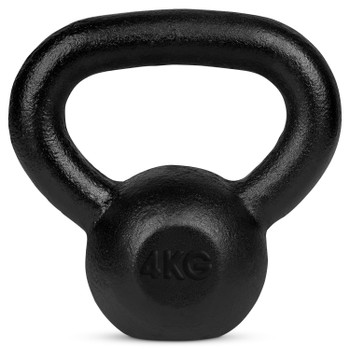 Bytomic Cast Iron 4kg Kettlebell
