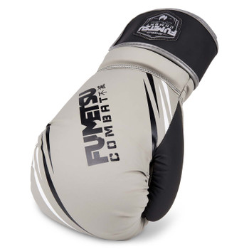 Fumetsu Shield Boxing Gloves Grey/Black