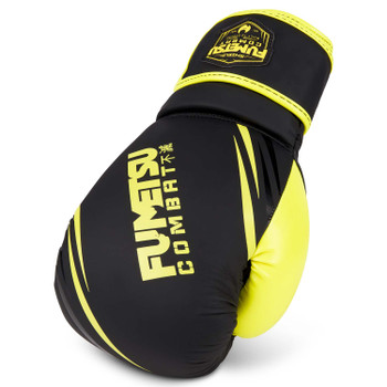 Fumetsu Shield Boxing Gloves Black/Neon