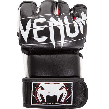 Venum Undisputed 2.0 Leather MMA Fight Gloves Black