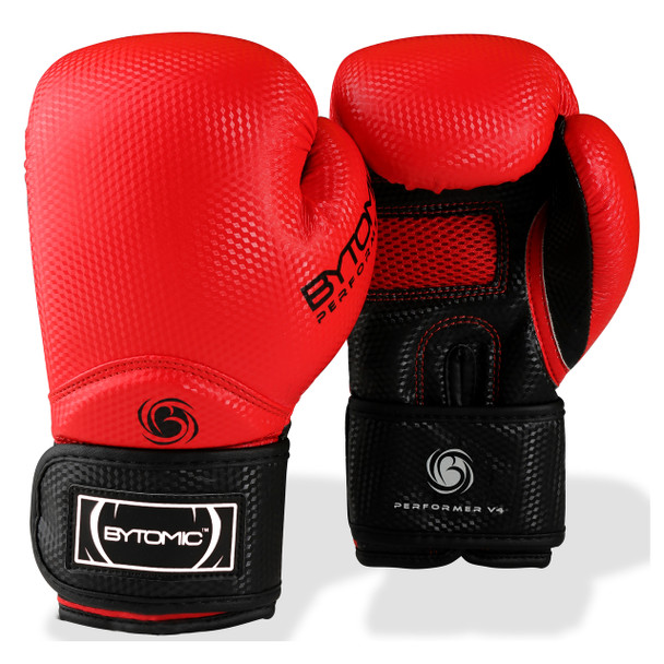 Bytomic Performer V4 Boxing Gloves Red