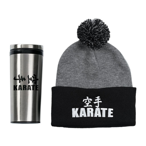 Century Karate Beanie and Tumbler Set