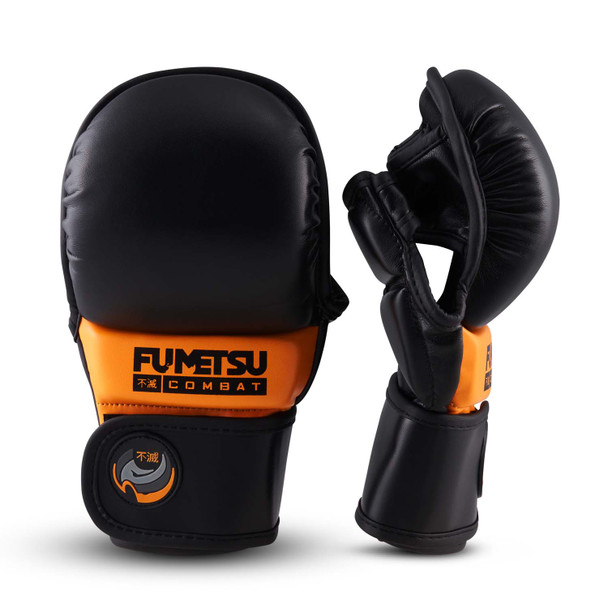 Fumetsu Ghost MMA Sparring Glove Black/Orange