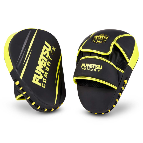 Fumetsu Shield Focus Mitts Black/Neon