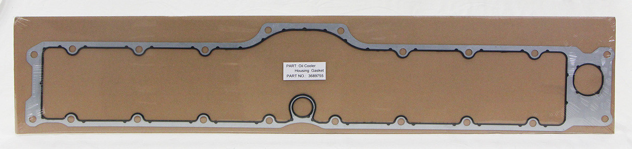 (834489) New Replacement Oil Cooler Housing Gasket for Cummins ISX / QSX  Engines 4955592, 3689755