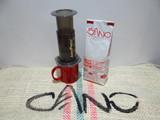 Aero press, nuevo y extenso metodo de preparar café