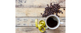 Kickstart your morning with black coffee