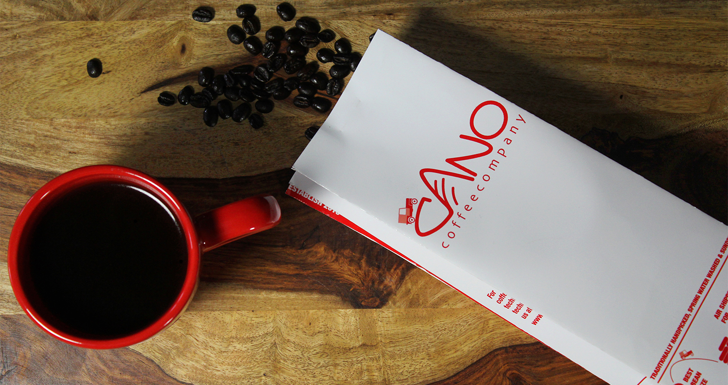 Midtown Rush Cano Coffee artisan from Huila Colombia