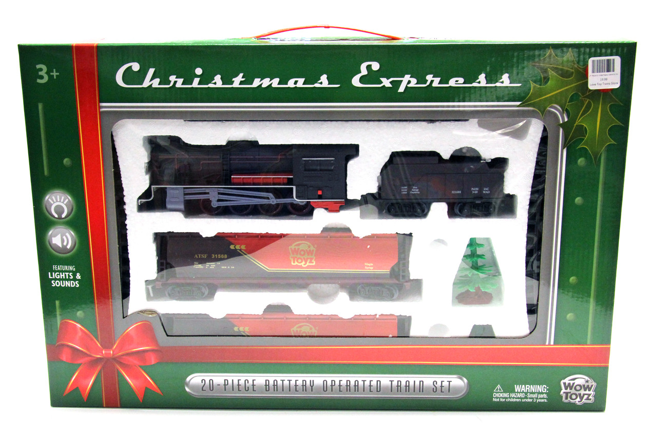WT-TR20CE CHRISTMAS EXPRESS TRAIN SET 20-PC