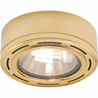 Mini Puck Light, Low Voltage, Xenon, Grooved Trim with Housing, Copper (104 NM127CO)