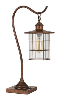 Silverton Desk Lamp With Glass Shade (Edison Bulb included) (162|BO2668DKRU)