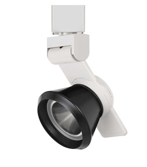 12W Dimmable integrated LED Track Fixture, 750 Lumen, 90 CRI (162|HT999WHCONEBK)