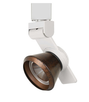 12W Dimmable integrated LED Track Fixture, 750 Lumen, 90 CRI (162|HT999WHCONERU)