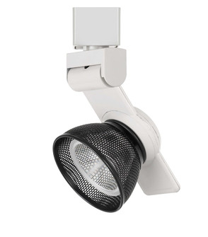 12W Dimmable integrated LED Track Fixture, 750 Lumen, 90 CRI (162|HT999WHMESHBK)